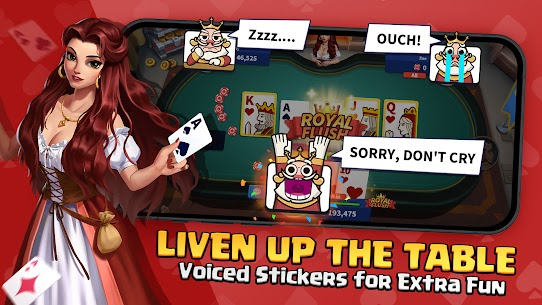 Poker Glory – Free Texas Hold' em Online Card Games Apk Download NEW 2021 4