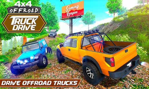 Top Off-road Simulator: Jeep Driving Games 2021  screenshots 1