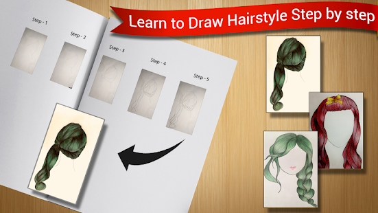 Hairstyles Sketch : Learn to Draw Hairstyles