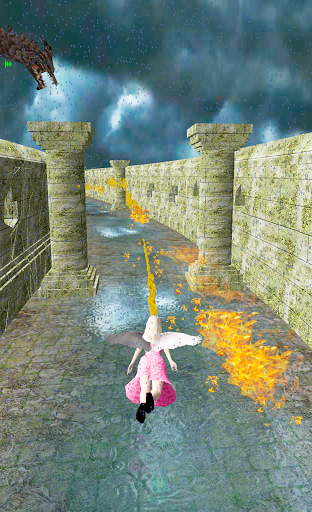 Flying Girl Runner 4 1.3 screenshots 4