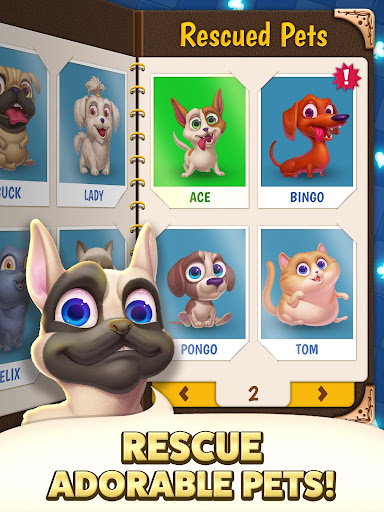 Solitaire Pets Adventure - Free Solitaire Fun Game  screenshots 18