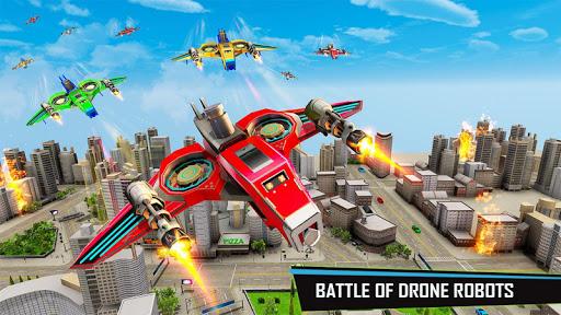 Drone Robot Car Game - Robot Transforming Games screenshots 4