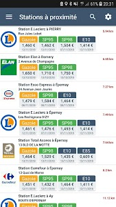 Stations Carburant et Prix Essence 2.5.1
