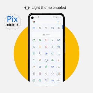 Pix – Minimal Black/White Icon Pack 4.0 Apk 3