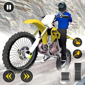 Snow Mountain Bike Racing 2021  Motocross Race