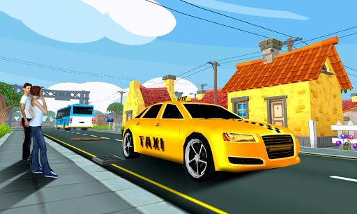 City Taxi Driving 3D 1.17 screenshots 2