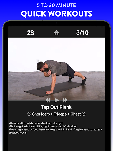 Daily Workouts Free - Home Fitness Workout Trainer 6.30 Screenshots 8
