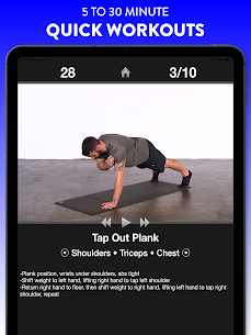Daily Workouts Free – Home Fitness Workout Trainer 8
