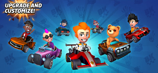 Boom Karts - Multiplayer Kart Racing apkpoly screenshots 15