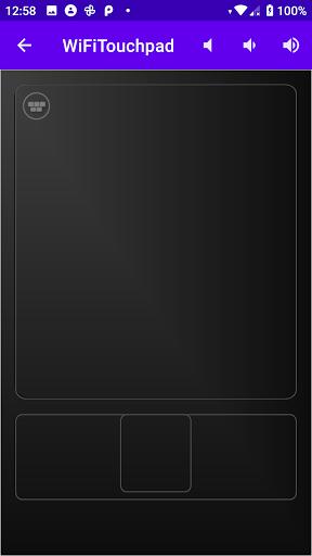 Foto do WiFi Touchpad