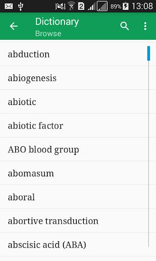 Biology Dictionary Offline  screenshots 1
