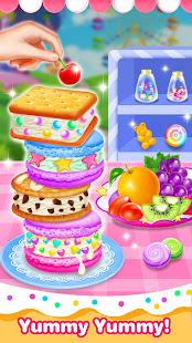 Icecream Sandwich Shop-Cooking Games for Girls 1.3 Screenshots 4