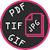 PDF > JPEG Converter: TIF, GIF > PNG, WEBP