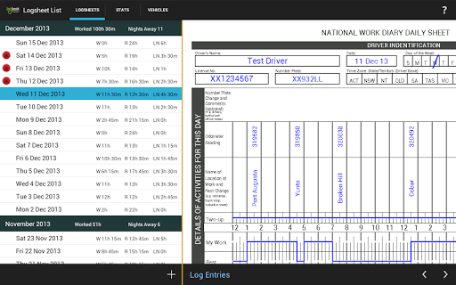 Logbook Checker  screenshots 5