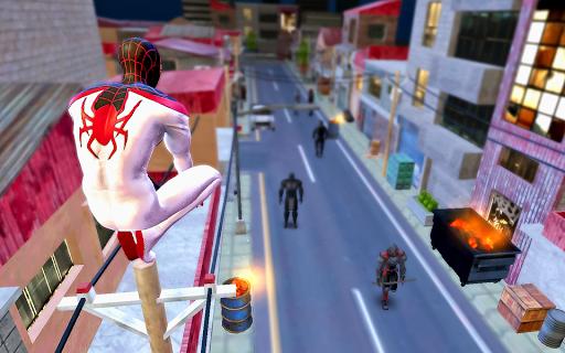 Spider Hero Rope Fight Ninja Gangster Crime City 7.0 screenshots 1