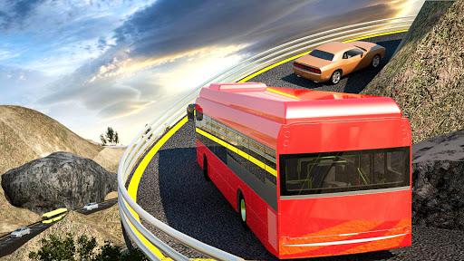 US Bus Hero: Off road Mountain Tourist Bus Drive  screenshots 6