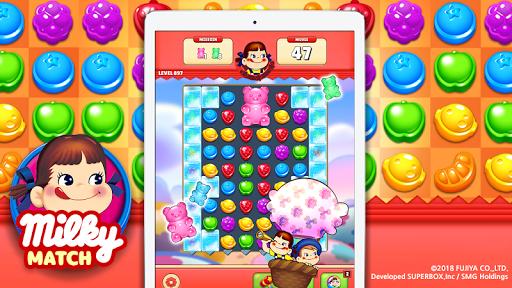 Milky Match : Peko Puzzle Game screenshots 1