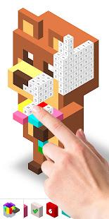 Color by Number: 3D Pixel Art