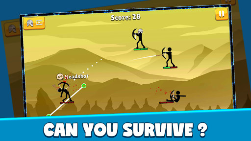 Code Triche Stickman Archer: Arrow Stick Fight (Astuce) APK MOD screenshots 5