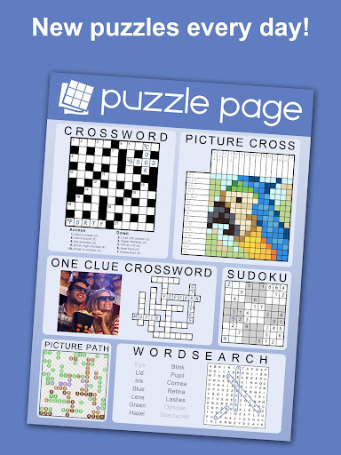 Puzzle Page - Crossword, Sudoku, Picross and more 3.62 screenshots 1
