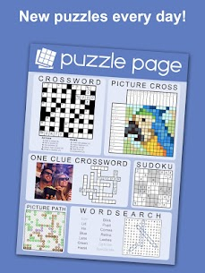 Puzzle Page – Crossword, Sudoku, Picross and more Apk Download 2021 1