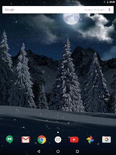 Christmas Snowfall Live Wallpaper FREE