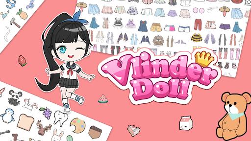 Vlinder Doll-Dress up Games, Avatar Creator  screenshots 1