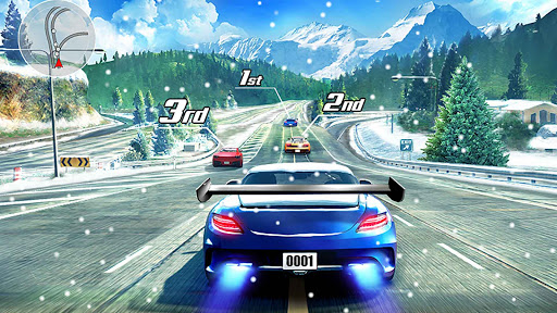 Course de rue en 3D screenshots apk mod 1
