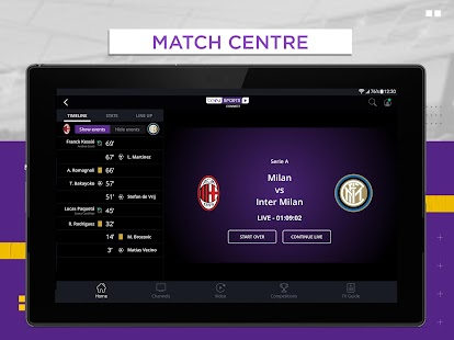 beIN SPORTS CONNECT Screenshot