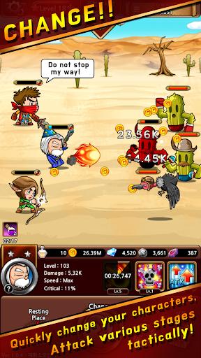hero-c : the role knights screenshot 3