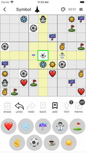 All Sudoku - 5 kinds of sudoku puzzle in one app screenshots 6