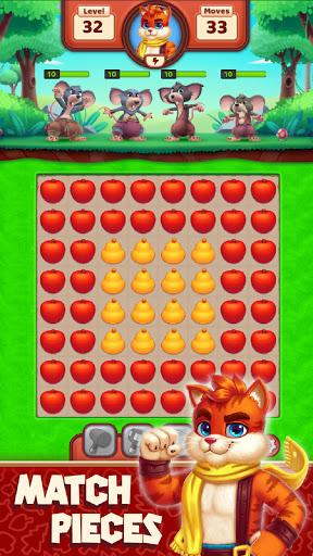 Cat Heroes - Color Match Puzzle Adventure Cat Game 55.9.3 screenshots 1
