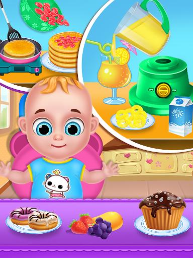 Mom & newborn babyshower - Babysitter Game  screenshots 7
