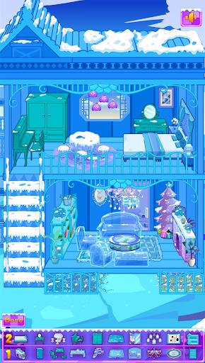 Frozen Dollhouse Design,Ice Dollhouse for girls  screenshots 7