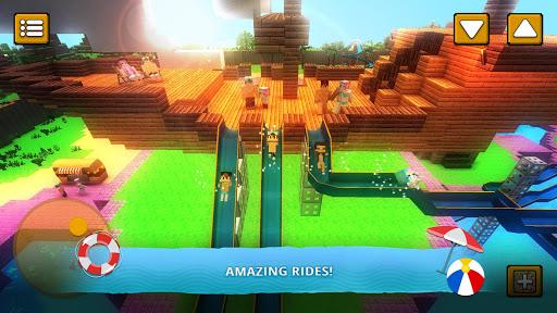 Water Park Craft GO: Waterslide Building Adventure 1.16-minApi23 Screenshots 3