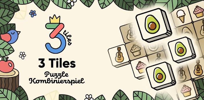 3 Tiles - Tile Matching Spiel | Mahjong Rätsel