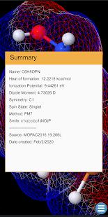 Mobile Molecular Modeling -Mo3
