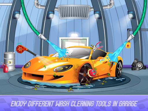 Kids Sports Car Wash Cleaning Garage 1.16 screenshots 7