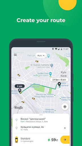 OnTaxi - book a taxi online 5.9.0 Screenshots 1