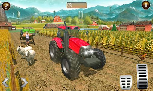 Canada' s Mega Organic Tractor Farming SIM 2019 Apk Download 4