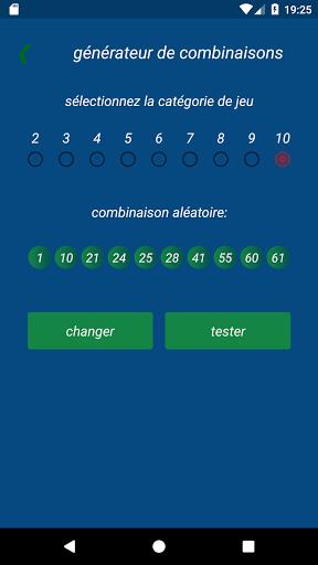 Keno FR combination statistics  screenshots 6
