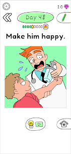 Draw Happy Clinic (MOD, Unlimited Money) For Android 1