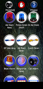 Siren Ringtones Screenshot
