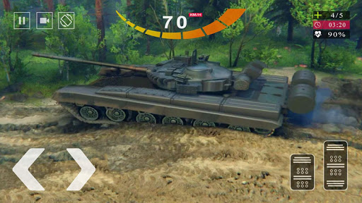 Army Tank Simulator 2020 - Offroad Tank Game 2020 1.1 screenshots 1