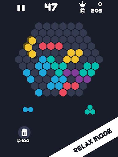 Hexa Mania Fill Hexagon Puzzle, Hex Block Blast  screenshots 7