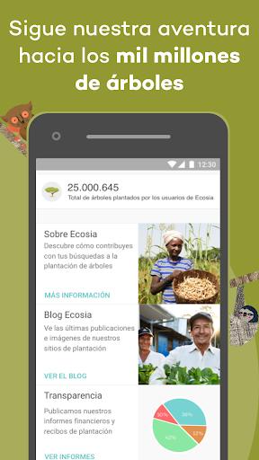 Ecosia: verde y privado