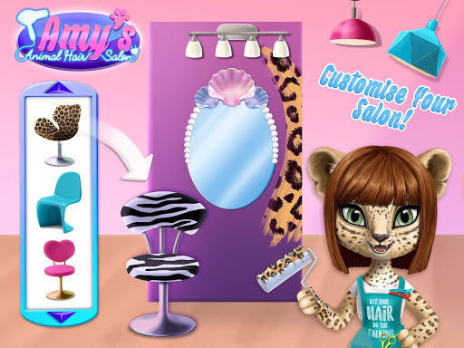 Amy's Animal Hair Salon - Cat Fashion & Hairstyles android2mod screenshots 14