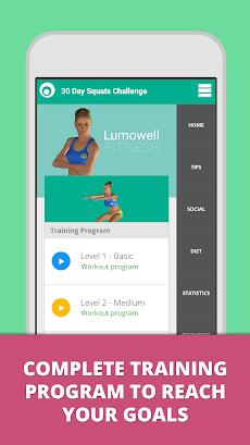 Squat Challenge 30 Day Workoutのおすすめ画像1