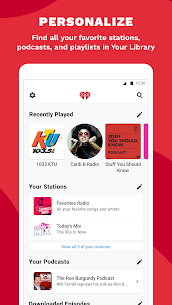 iHeartRadio Mod Apk: Radio, Podcasts 10.2.0 (Ad-Free) 7