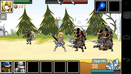 Army of Goddess Defense - Against Darkness Apkfinish screenshots 6